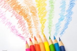 アニメに彩色する図
